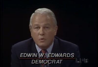 Edwin Edwards debate video