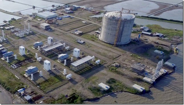 Fourchon LNG begins federal permitting process for export facility
