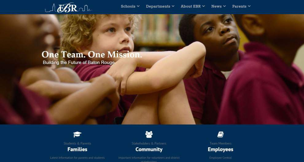 'This is a whole new day in terms of how we communicate' — East Baton Rouge School System designing new websites _lowres