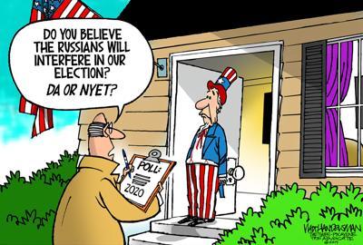 Walt Handelsman: 2020 Election Poll