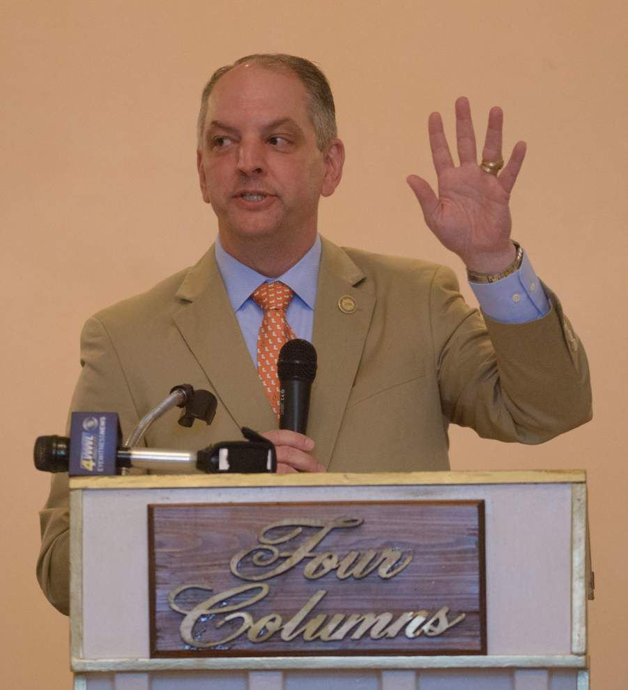 West Bank vital to state's economy, Louisiana Gov. John Bel Edwards tells business leaders _lowres