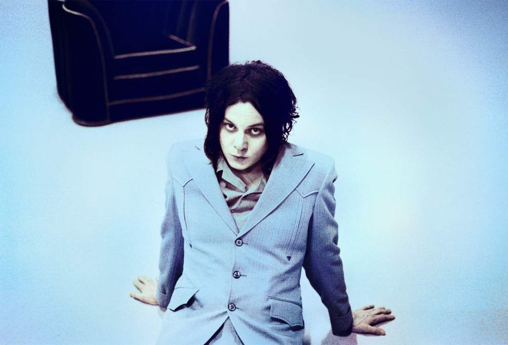 Alex Rawls: Jack White tops week's music roster _lowres