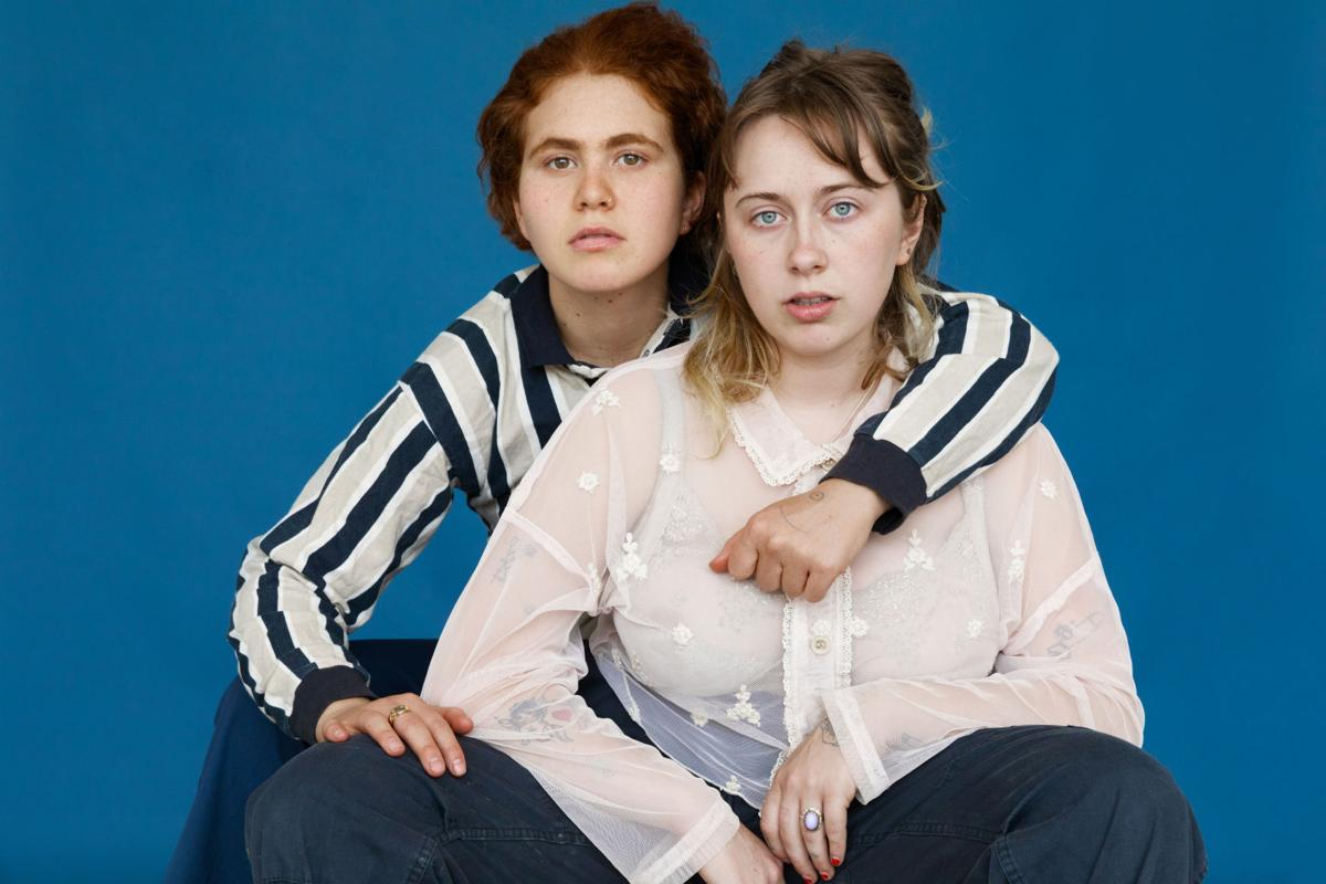 Girlpool promo for Red
