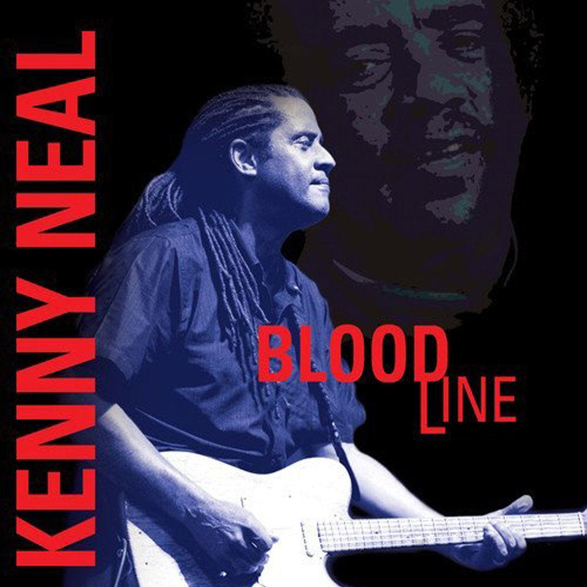Bloodline Kenny Neal (album cover)