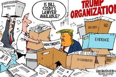 Walt Handelsman: Searching for a way out...
