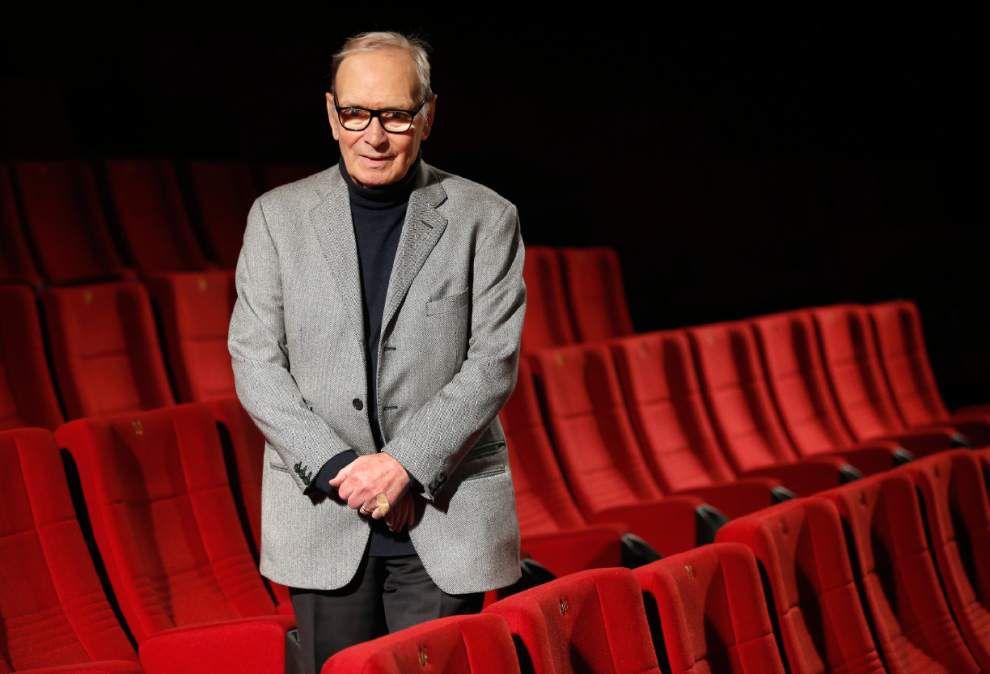 Ennio Morricone's music has starring role in Tarantino film _lowres