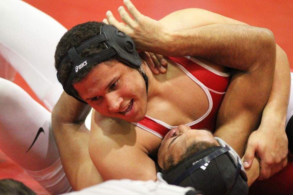 Kendon Lee, Brusly dominate Brusly Invitational wrestling tournament _lowres