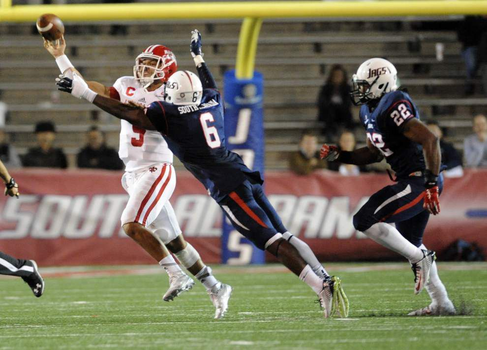 After rallying from another early deficit, Cajuns fall to Jaguars _lowres