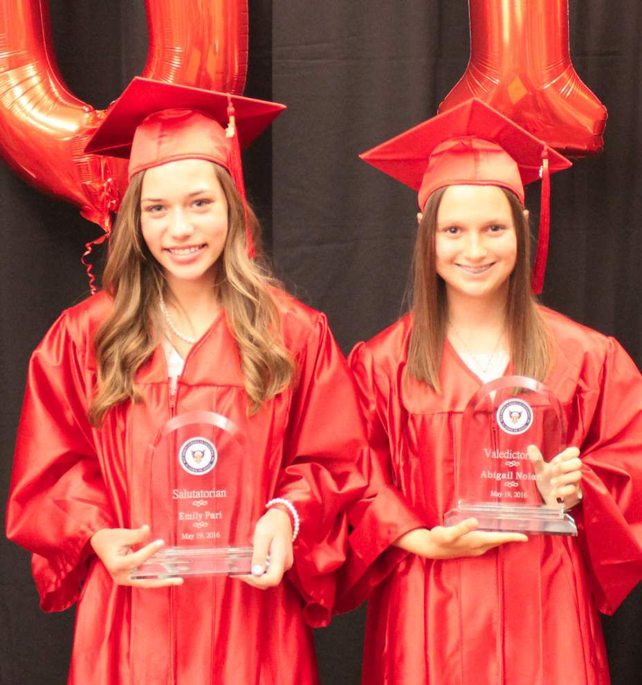 St. Andrew the Apostle School holds seventh-grade graduation _lowres