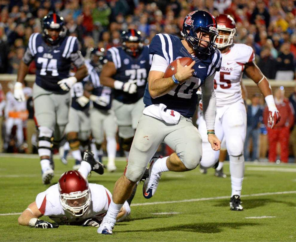 The best yet: LSU's secondary squares off with Ole Miss QB Chad Kelly, Rebels' dynamic offense _lowres