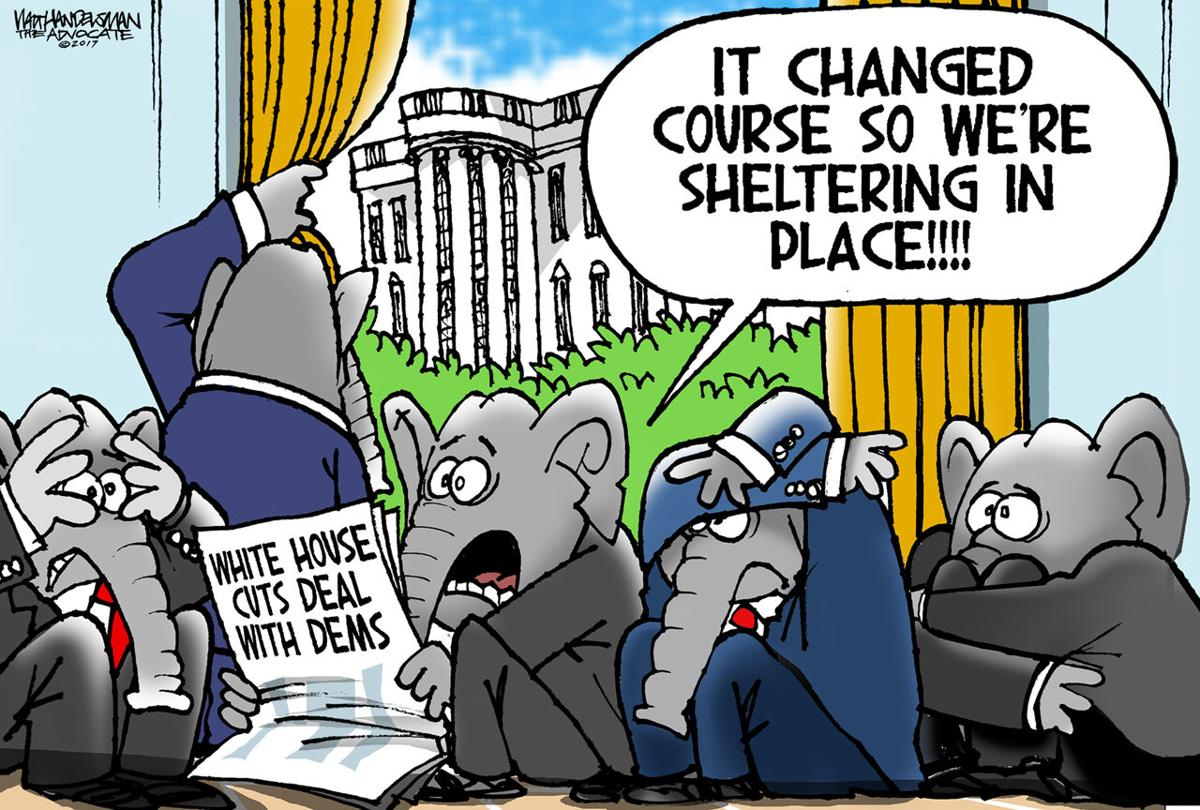 Walt Handelsman: Sheltering in Place