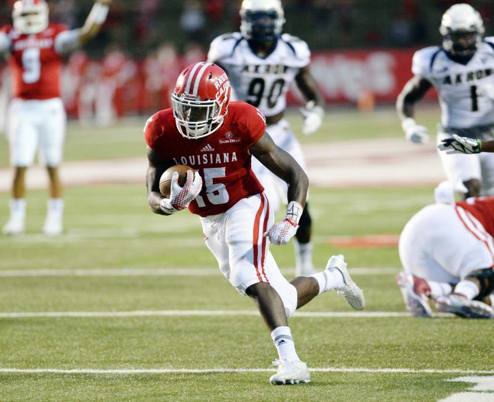 Ragin' Cajuns make it clear: They need a faster start against Louisiana Tech _lowres