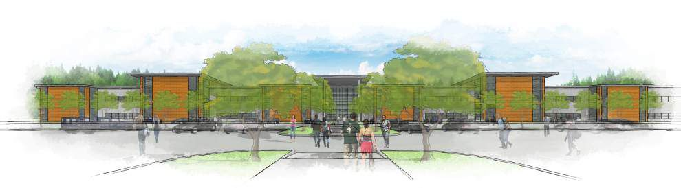 Delgado Community College breaks ground on River City campus in Avondale _lowres
