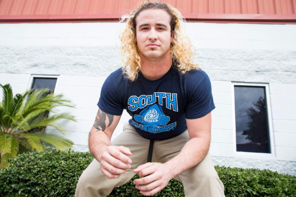 New Orleans area all-metro wrestling team: Jesuit's Guy Patron, Rummel's Josh Ramirez, South Plaquemines' Jonathan Wilson named outstanding wrestlers _lowres