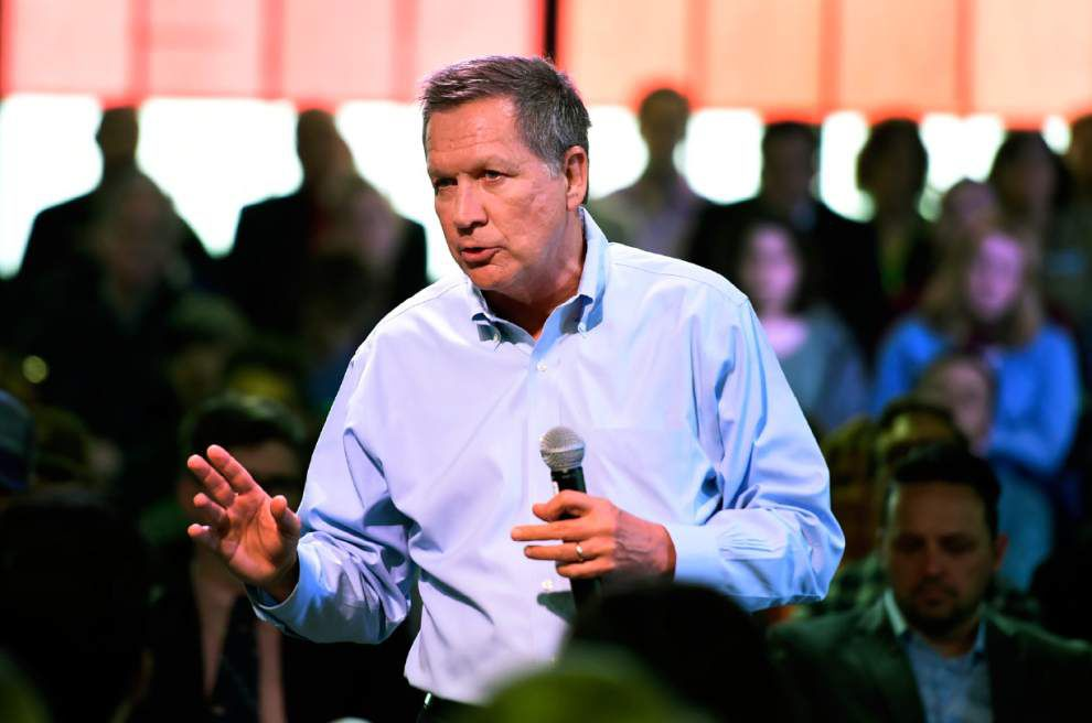 AP sources: John Kasich ends White House bid; clears Donald Trump's path to GOP nomination _lowres