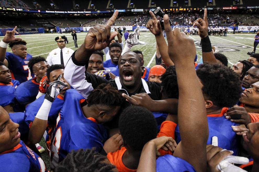 Shyheim Carter's passing leads Kentwood to Class 1A title win over Haynesville _lowres