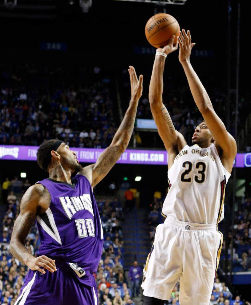 Kings top Pelicans in preseason game at Anthony Davis' old home — Kentucky's Rupp Arena _lowres