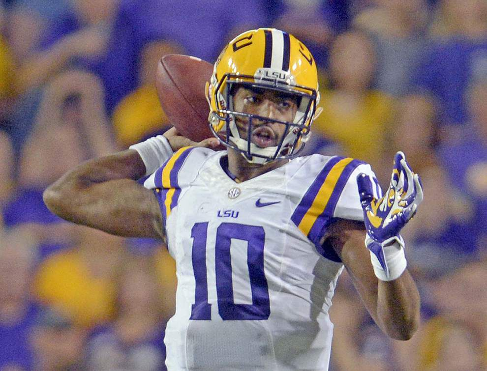 Video: LSU quarterback Anthony Jennings says Tigers offense just tried to take what Kentucky defense gave them _lowres