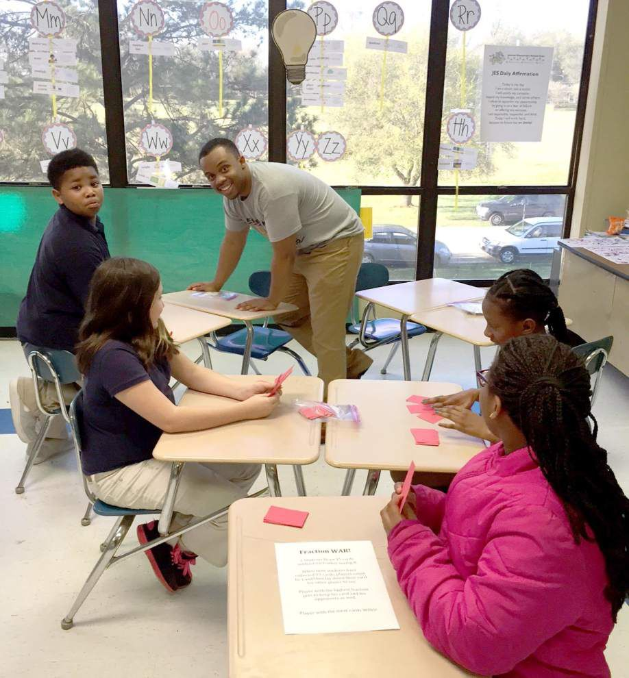 Jackson Elementary hosts study of Pi at STEM event _lowres