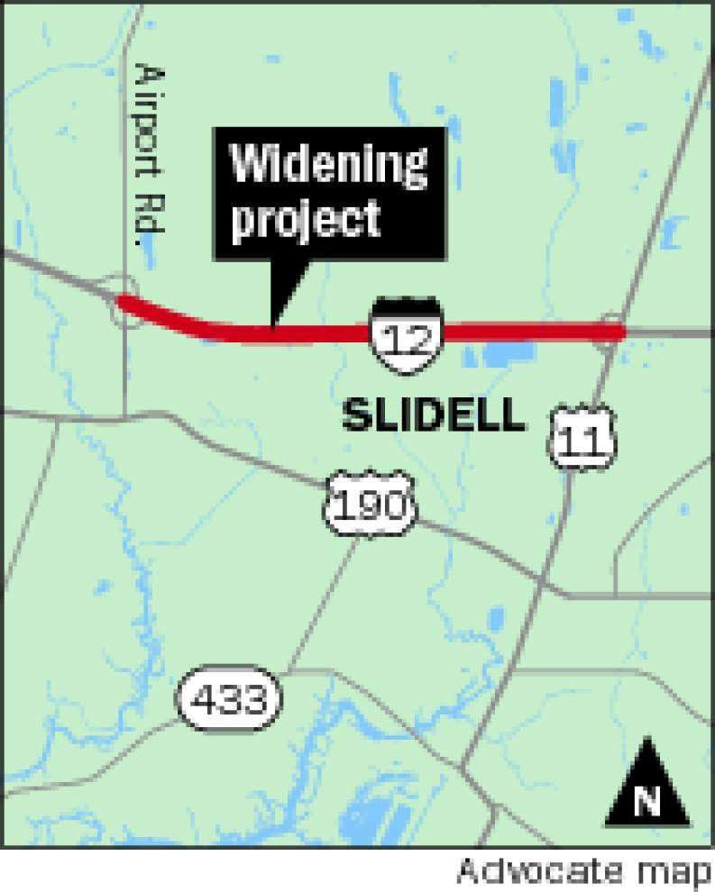 Work begins to add third lane to I-12 between U.S. 11 and Airport Road _lowres