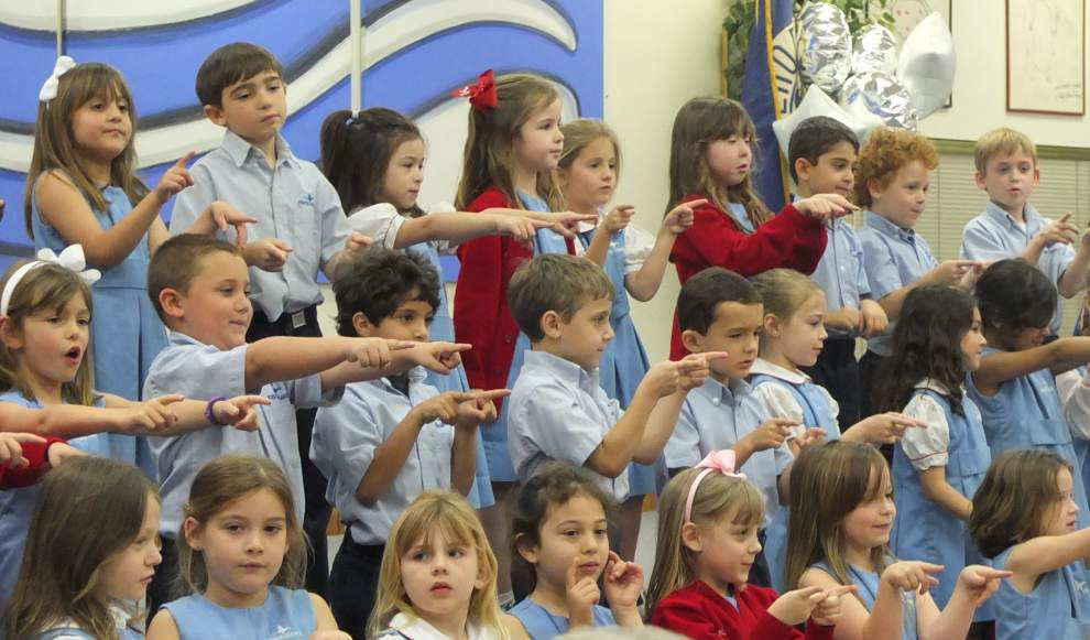 Kehoe-France School welcomes grandparents to Metairie campus _lowres