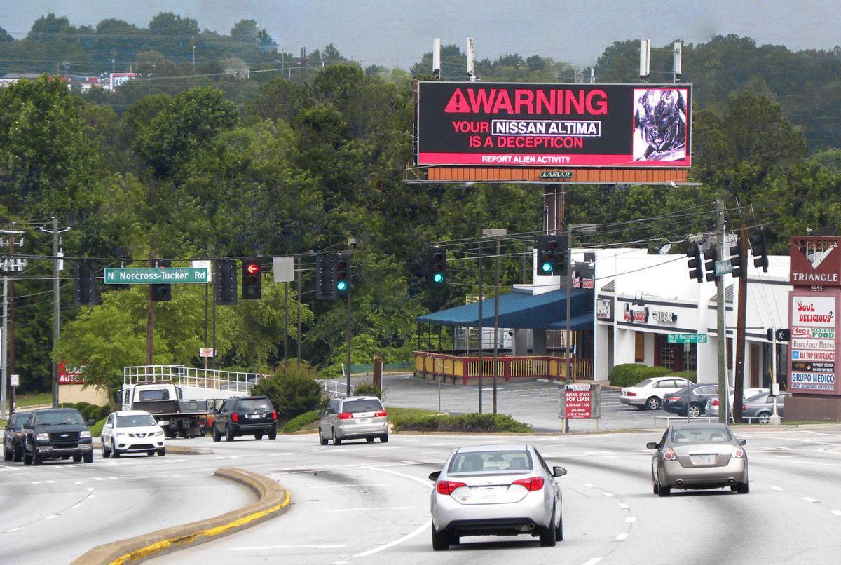 Lamar billboard
