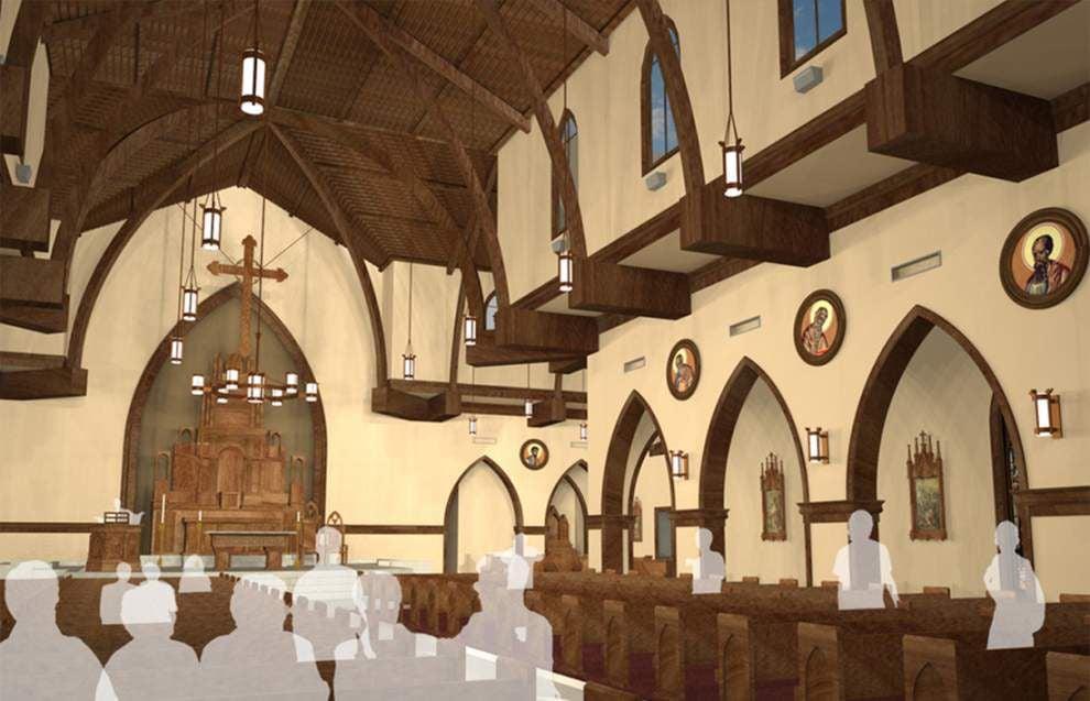 St. John Church construction in full swing _lowres
