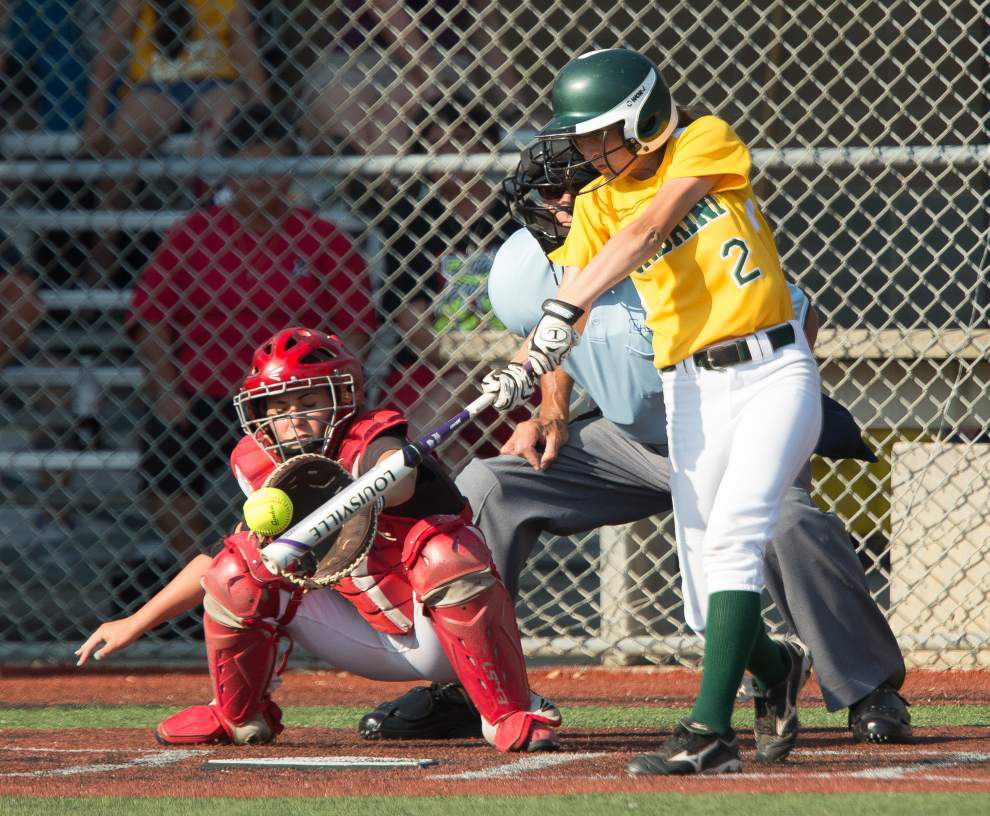 Cabrini holds off Assumption at state softball tournament _lowres