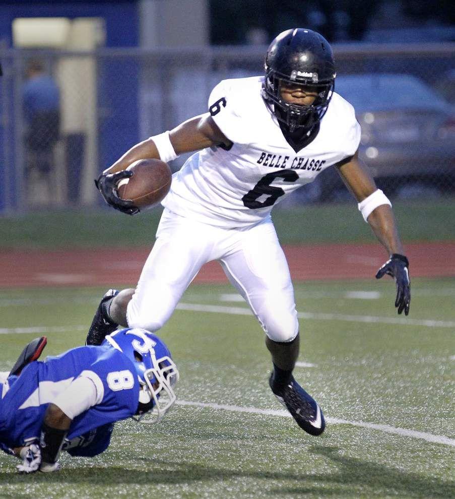 Calvin Parker's 85-yard touchdown run spurs Belle Chasse past East Jefferson _lowres