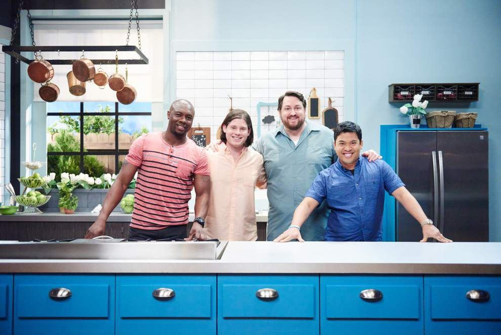 Starry night   BR's Ducote shoots 'what if' pilot this week on Food Network show _lowres