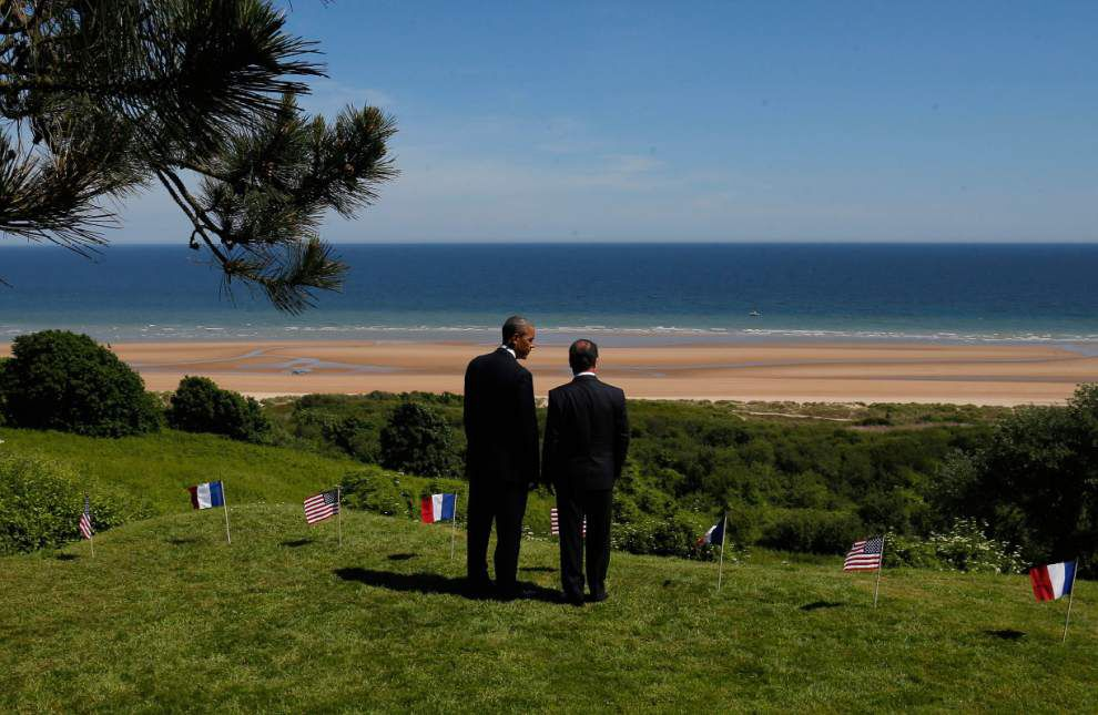 World honors D-Day's fallen on 70th anniversary _lowres