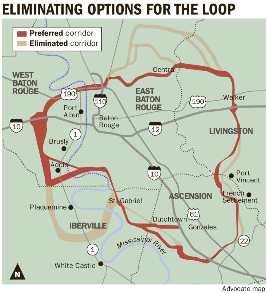Ascension officials again pushing for Iberville location for a new bridge in the proposed Baton Rouge Loop project _lowres