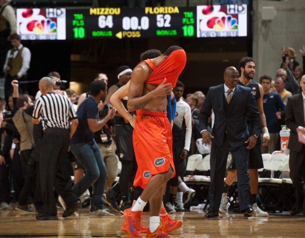 SEC roundup: Missouri stuns Florida 64-52 _lowres