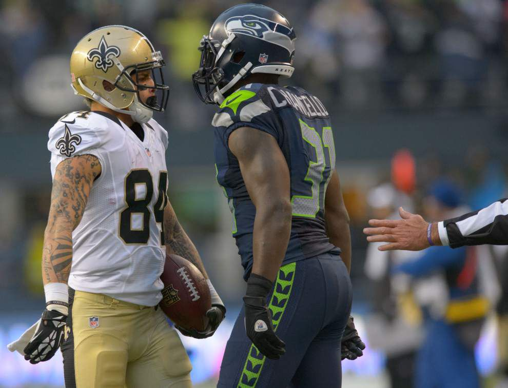 """Saints' Kenny Stills, Curtis Lofton and Keenan Lewis are listed as """"probable"""" for Sunday's game at Cleveland _lowres"""
