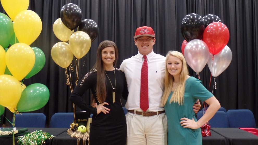 Slide show: The first day for high school athletes to sign national letters of intent in the early signing period _lowres