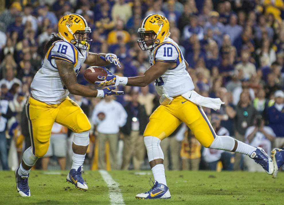 LSU times of interest for its Thanksgiving Day game at Texas A&M _lowres