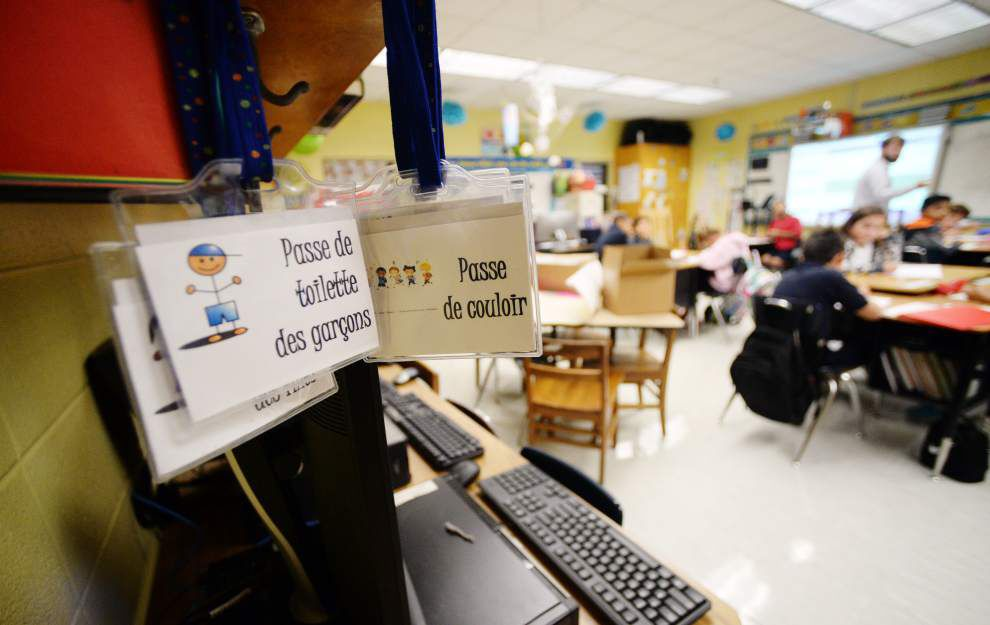 Myrtle Place Elementary heads toward a French-speaking-only campus as immersion program widens _lowres