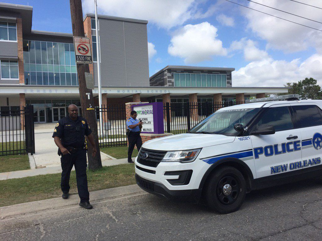 NOPD New Orleans police