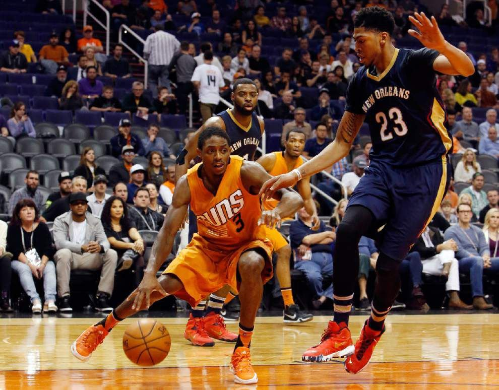 After the team's frustration bubbled over following Friday's loss at Phoenix, the Pelicans on Sunday head to Denver, hoping to turn it around _lowres