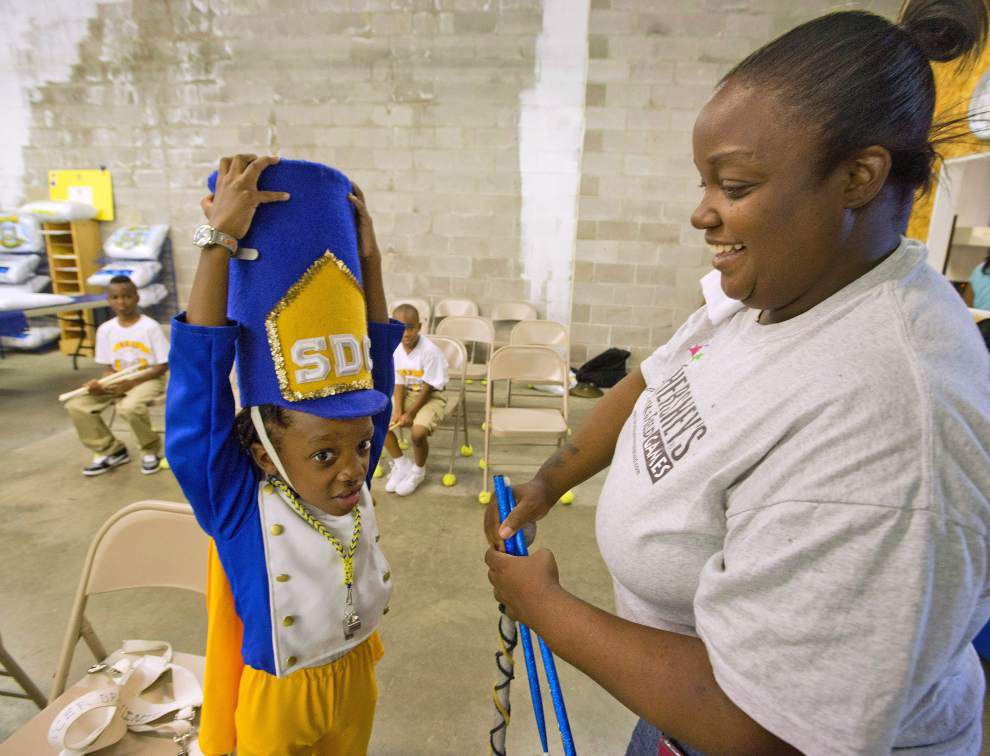 Photos: Drum corp clinic helps teach kids music, life goals _lowres