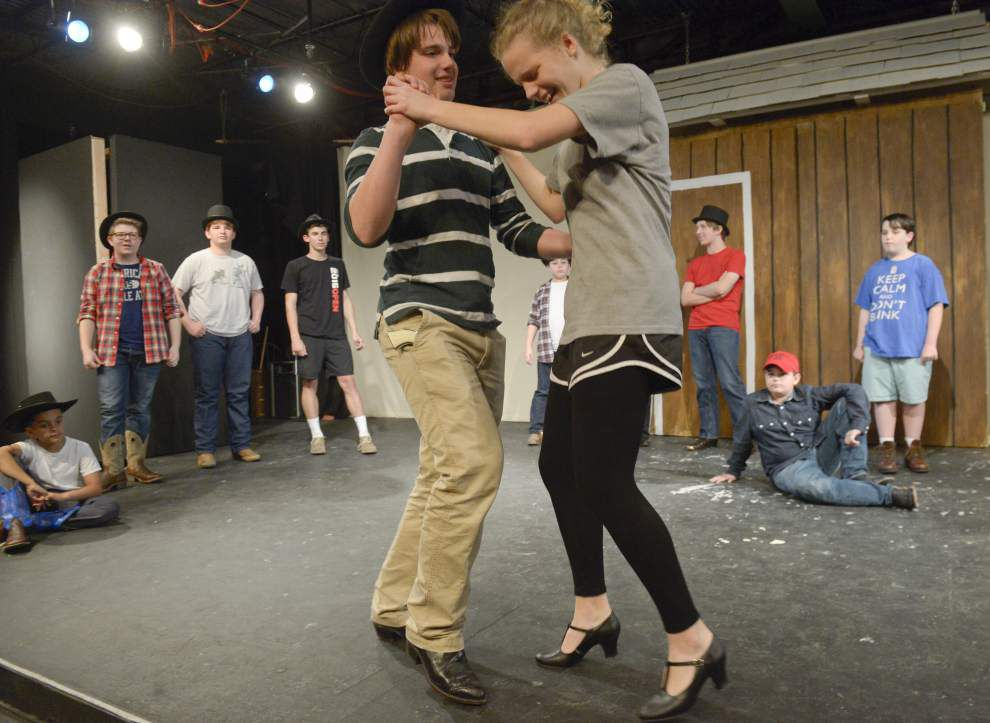 Cast of Theatre Baton Rouge's Young Actors Program brings 'Oklahoma!' to stage _lowres
