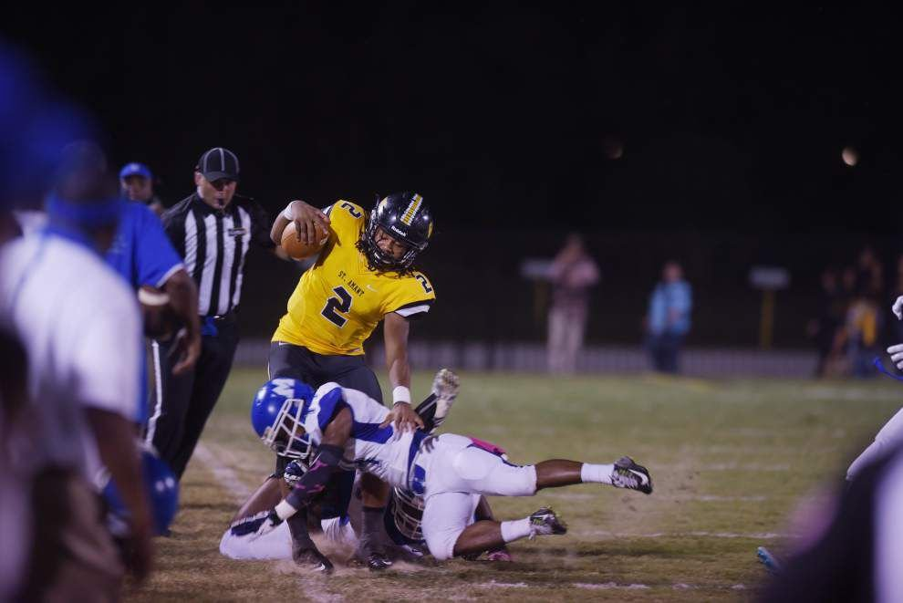 St. Amant defense leads the way in 37-8 win over McKinley _lowres