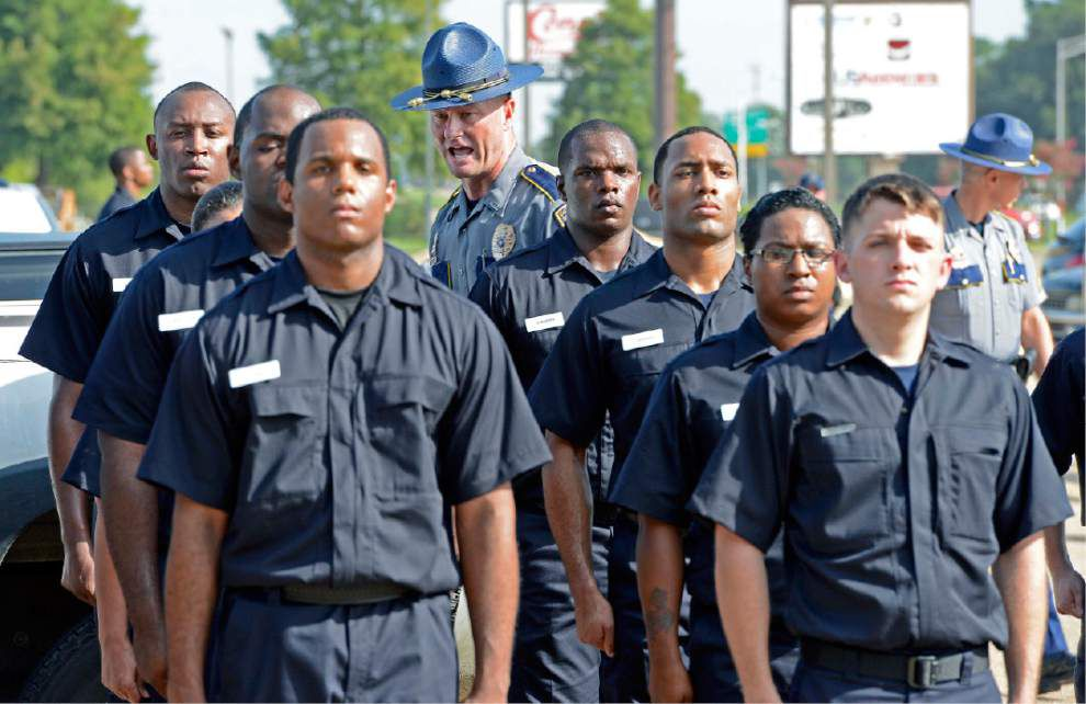 35 recruits take first step toward becoming BR police officers _lowres