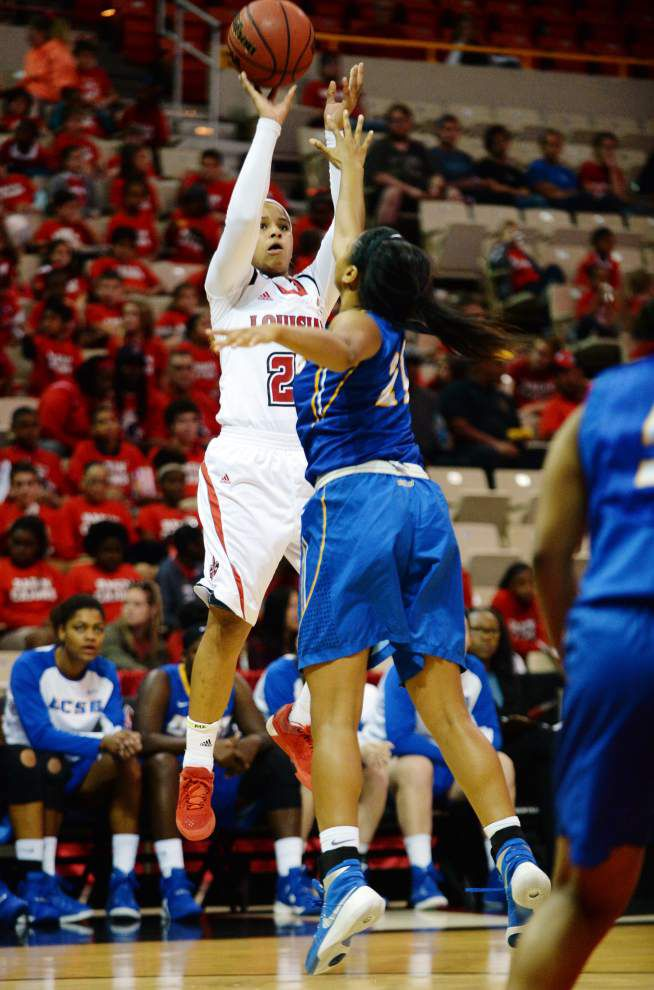 Cajuns women eye rebound(s) Tuesday vs. Alcorn State _lowres