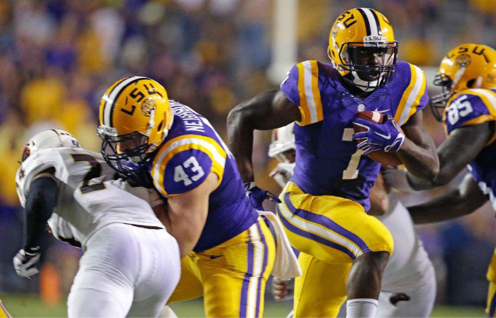 Leonard Fournette among Tigers headed to SEC Media Days _lowres