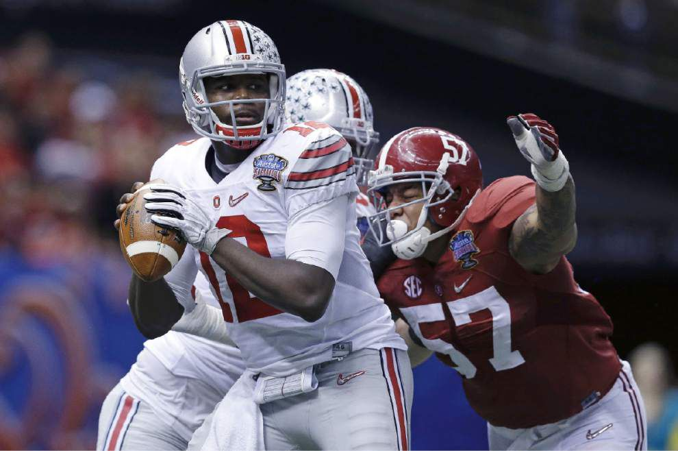Video: Ohio State sophomore quarterback Cardale Jones leads the Buckeyes to the national championship game _lowres