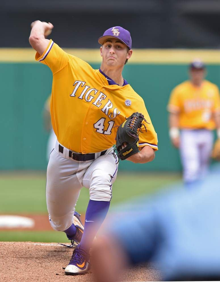 Who's No. 3? LSU's pitching plan to be revealed later this week _lowres