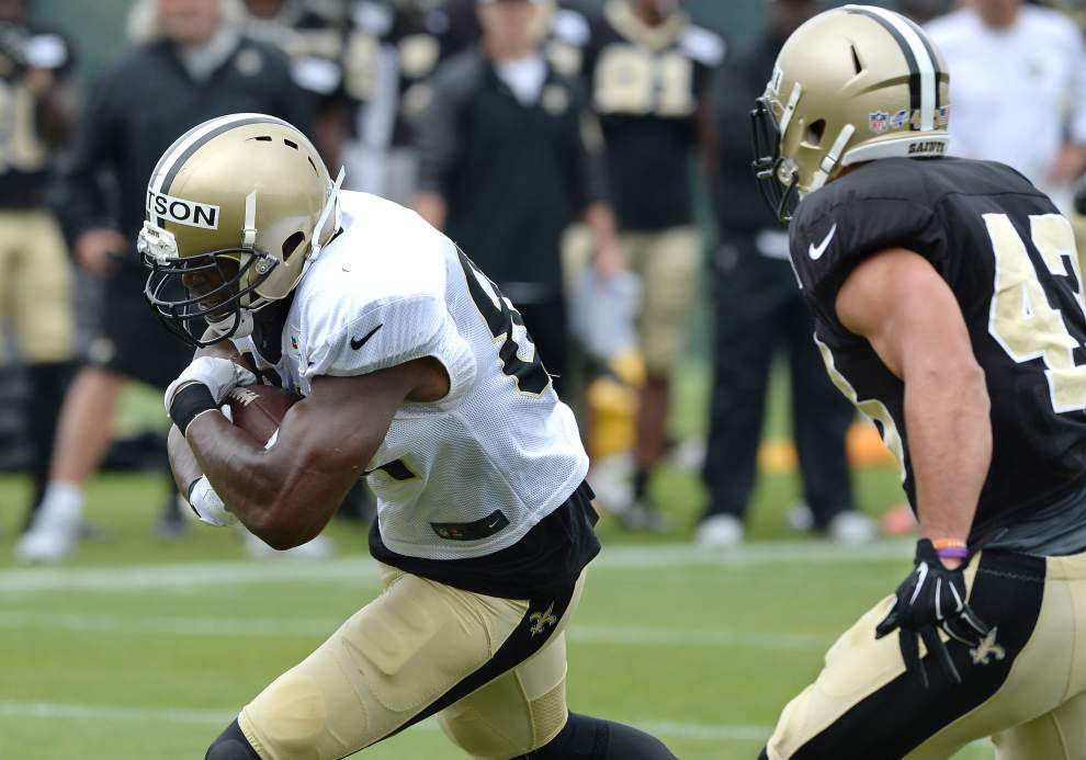 Who is making the most noise at Saints camp? Looks like Willie Snead, Ben Watson are impressing _lowres