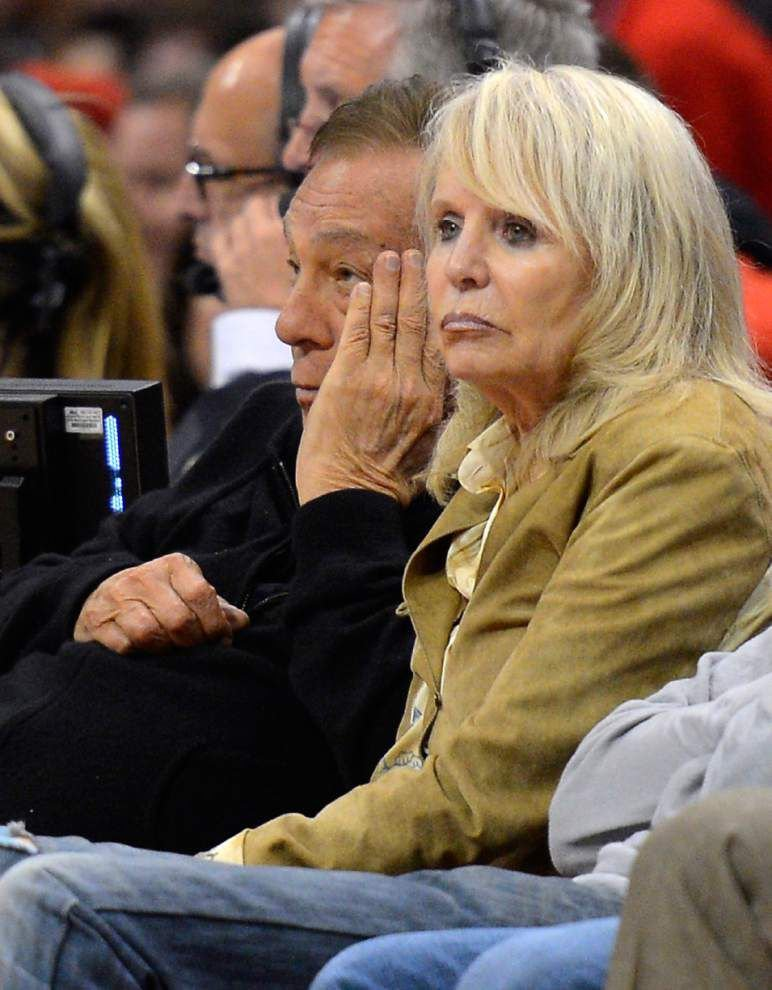 Shelly Sterling reviewing Clippers bids _lowres