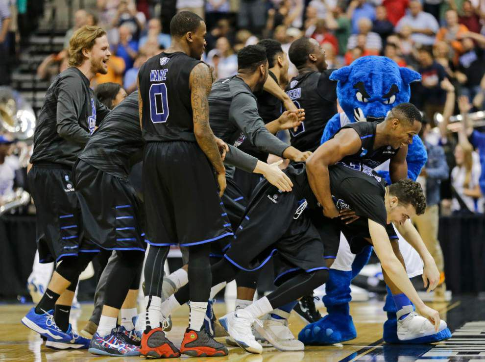 No. 14 seed Georgia State dumps Baylor on R.J. Hunter's clutch 3-pointer _lowres